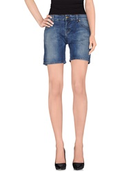 Galliano Denim Shorts Blue