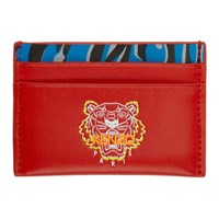 Kenzo Red Tiny Tiger Card Holder