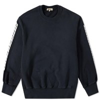 Yeezy Season 4 Printed Sleeve Crew Sweat Black