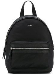 Dkny Logo Backpack Black