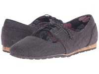 The North Face Bridgeton Mary Jane Canvas Tnf Black Dark Gull Grey Women's Maryjane Shoes Gray
