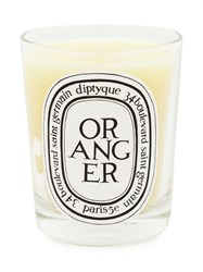 Diptyque Oranger Scented Candle Yellow