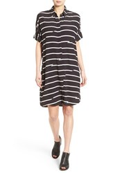 Women's Madewell 'Courier Breakstripe' Shirtdress
