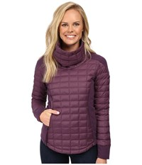 The North Face Ma Thermoball Pullover Sugilite Purple Women's Long Sleeve Pullover
