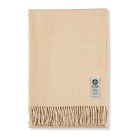So Cosy Emma Baby Alpaca Wool Throw 130X200cm Beige