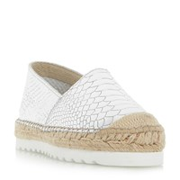 Dune Guide Espadrilles Rose Gold