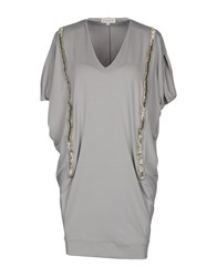 Vanda Catucci Dresses Short Dresses Women Light Grey
