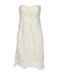 Molly Bracken Short Dresses White