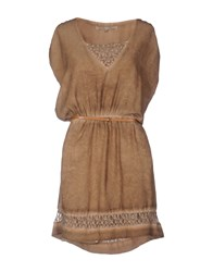 La Fee Maraboutee Short Dresses Khaki