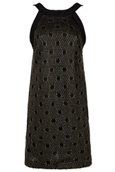 Martin Grant Sequin Embroidered Dress