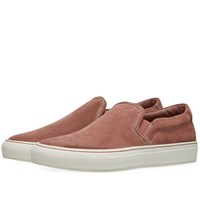 Common Projects Woman By Slip On Suede Pink