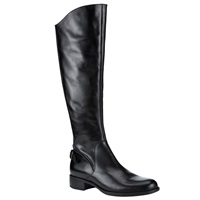 John Lewis Taylor Long Leather Knee Boots Black