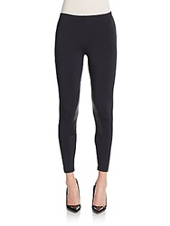 David Lerner Paneled Riding Leggings Black