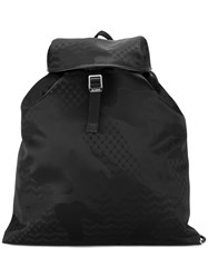 Neil Barrett Camouflage Backpack Black