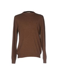 Cotton Belt Sweaters Brown