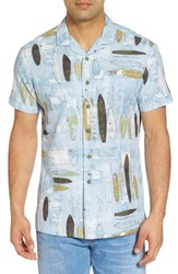 Kahala Shaping Room Regular Fit Camp Shirt Surf
