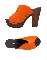 Vicini Mules Orange