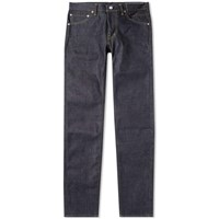 Visvim Social Sculpture 12 Unwashed Jean Blue