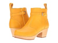 Swedish Hasbeens Jodhpur Warm Yellow Women's Boots