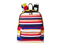 Roxy Sugar Baby Canvas Backpack Marshmallow La Super Stripe Backpack Bags Multi