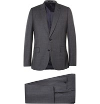 Paul Smith Grey Soho Slim Fit Wool Suit Gray