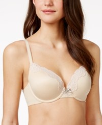 Maidenform Comfort Devotion Extra Coverage Bra 9404 Latte