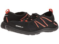 Speedo Seaside Lace 5.0 Black Orange Men's Shoes