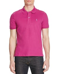 Tailorbyrd Pique Short Sleeve Classic Fit Polo Compare At 69.50 Magenta