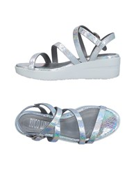 Ruco Line Sandals Silver
