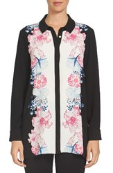 Cece Women's Engineered Floral Print Tunic