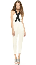 Aq Aq Berenger Jumpsuit Black Cream