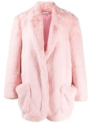 Natasha Zinko Oversized Faux Fur Coat 60