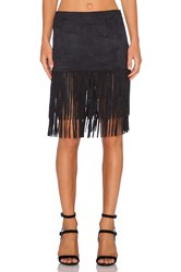 Wyldr Shimmy Shake Skirt Black