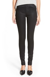 James Jeans Leggings Black Glossed