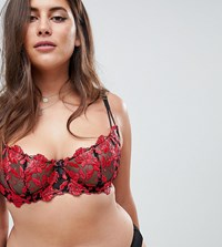 Ann Summers Cecile Non Padded Lace Bra Multi