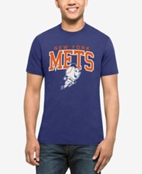 47 Brand '47 Men's New York Mets Splitter Blockhouse T Shirt Royalblue