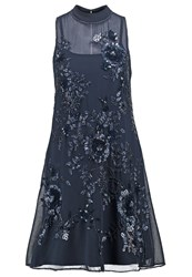 Miss Selfridge Victoria Cocktail Dress Party Dress Navy Blue Dark Blue