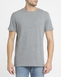 Element Grey Crew Round Neck T Shirt