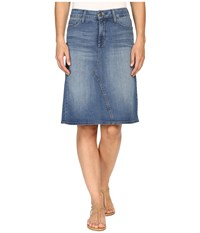Nydj Alice A Line Skirt In Istanbul Istanbul Women's Skirt Blue