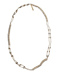 Ermanno Scervino Scervino Street Necklaces Military Green