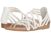Carlos By Carlos Santana Amara White Leather Women's Shoes