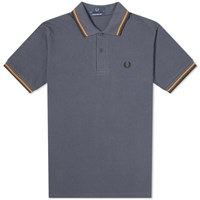 Fred Perry Original Twin Tipped Polo Grey