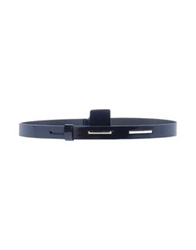 Jo No Fui Belts Dark Blue