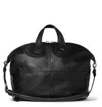 Givenchy Star Embossed Leather Nightingale Tote Bag Black