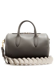 Anya Hindmarch Vere Barrel Leather Bag Grey