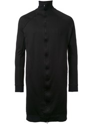 Julius Long Zip Cardigan Black