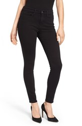 Good American Plus Size Legs Long Ankle Skinny Jeans Black 001