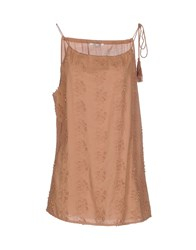 Fairly Topwear Tops Women Light Brown