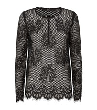 Set Floral Lace Top Female