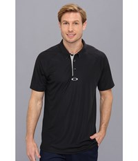 Oakley Elemental 2.0 Polo Black Men's Short Sleeve Pullover